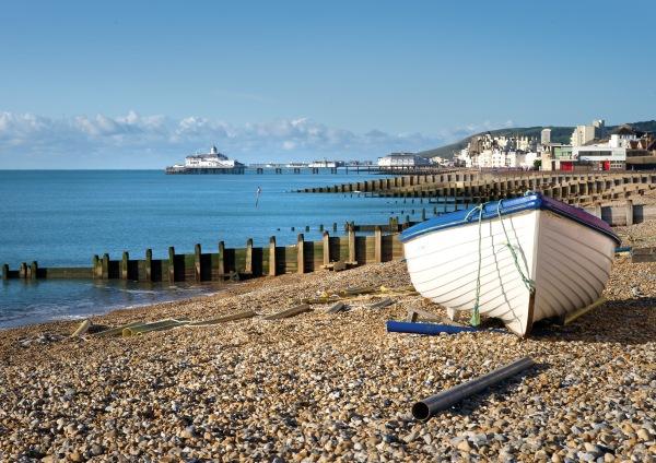 Eastbourne coast. Credit: Visit Eastbourne
